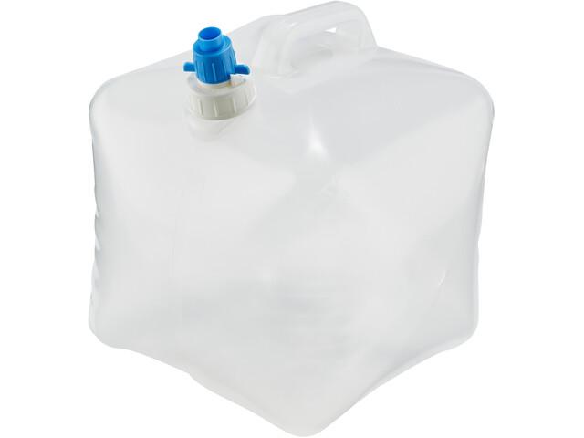 CAMPZ Bidon d'eau 10l pliable, transparent